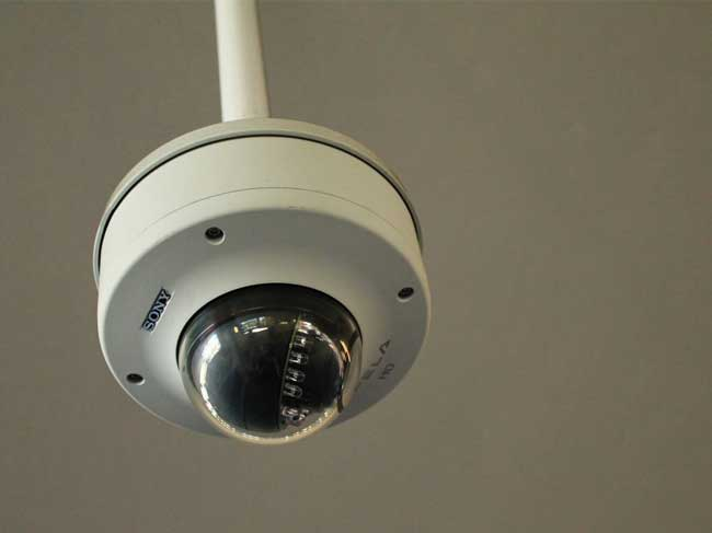 camera securite factice
